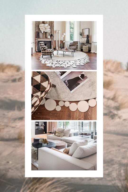 Trend Behemian Chic collage Floor Jewels by Roelfien Vos