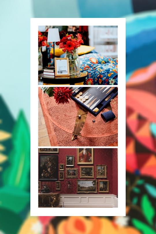 Trend More Bespoken collage Floor Jewels by Roelfien Vos