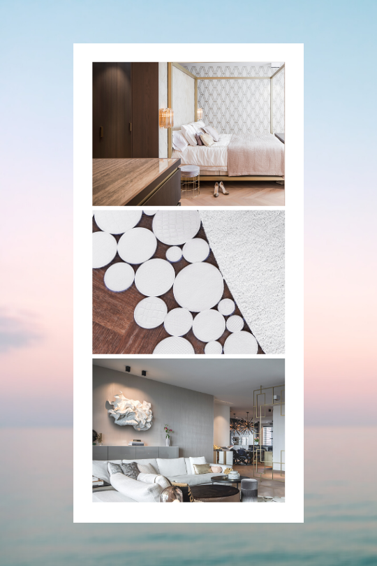 Trend Still Life collage Floor Jewels by Roelfien Vos